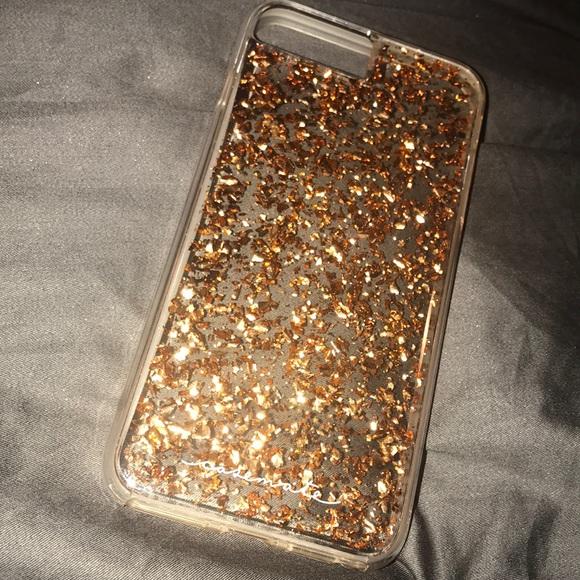 case-mate Accessories - Rose Gold Flake iPhone 7 8 Plus Case dbea2d5b1